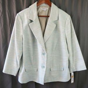 Pendleton Plus Aqua Tweed Blazer Size 20W